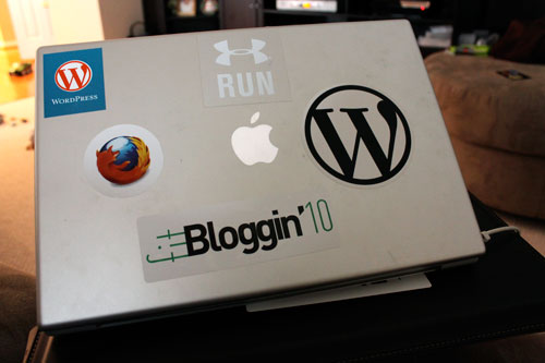 FitBloggin Sticker