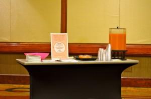 Florida Grapefruit Table FitBloggin'12