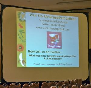 Florida Grapefruit Contact Info FitBloggin'12